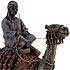 Egyptian Man Riding Camel Statue
